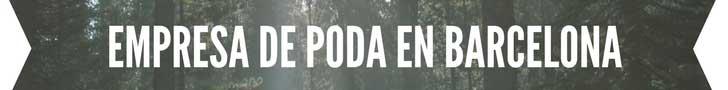 Empresa de poda en barcelona